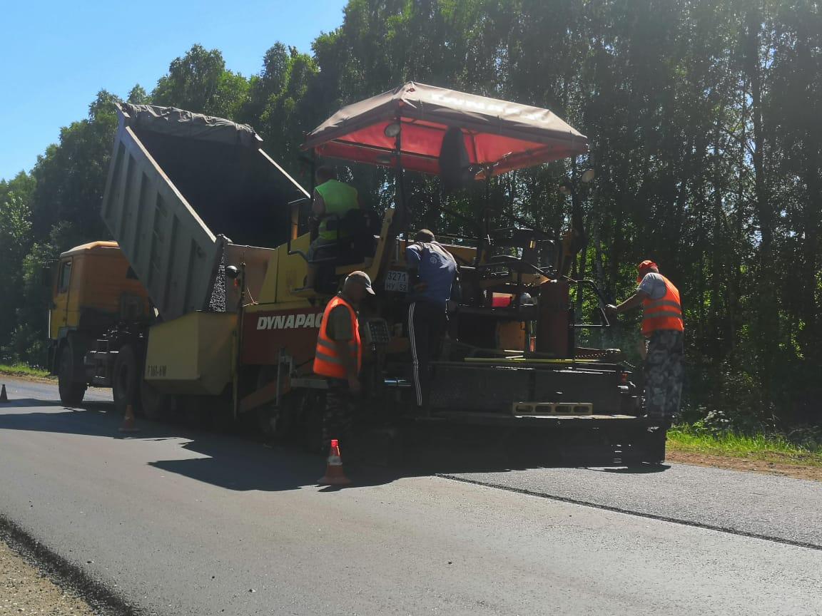 Участок дороги Выездное— Дивеево— Сатис планируют отремонтировать кДням празднования Серафима Саровского