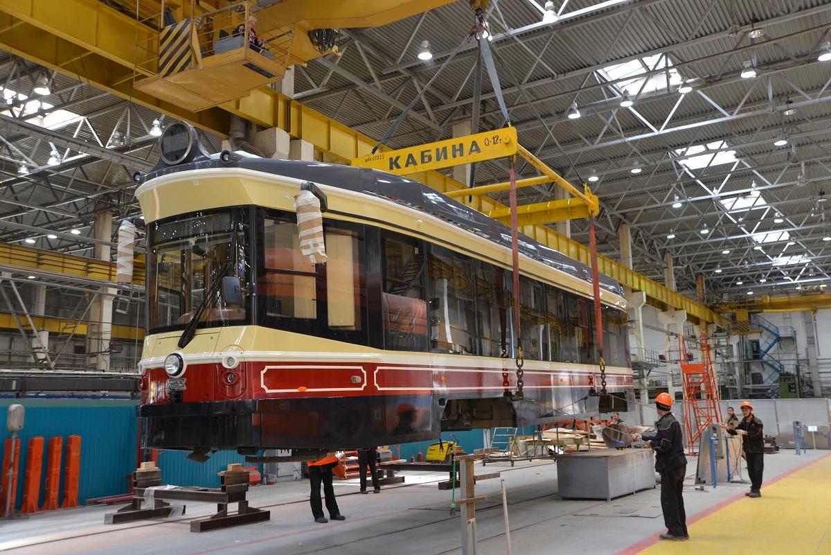 Первый ретро-трамвай уже отправили в Нижний Новгород
