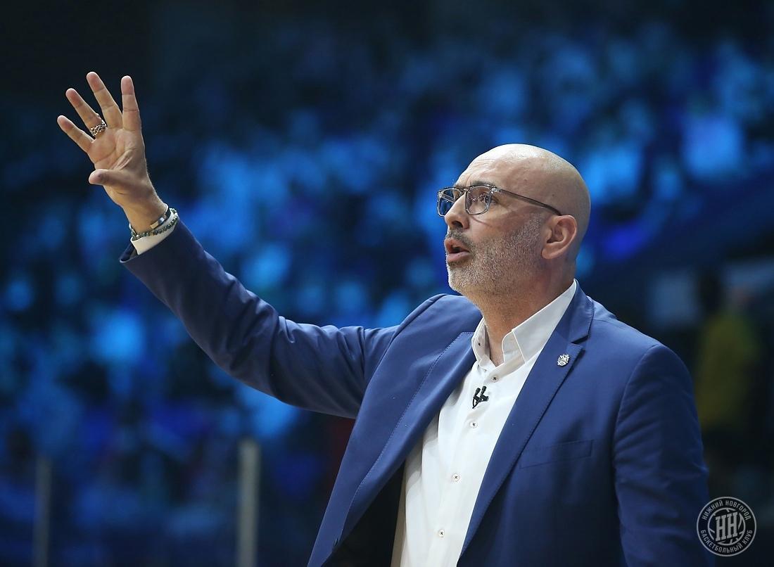 Зоран Лукич продолжит работу на посту главного тренера БК «Нижний Новгород»