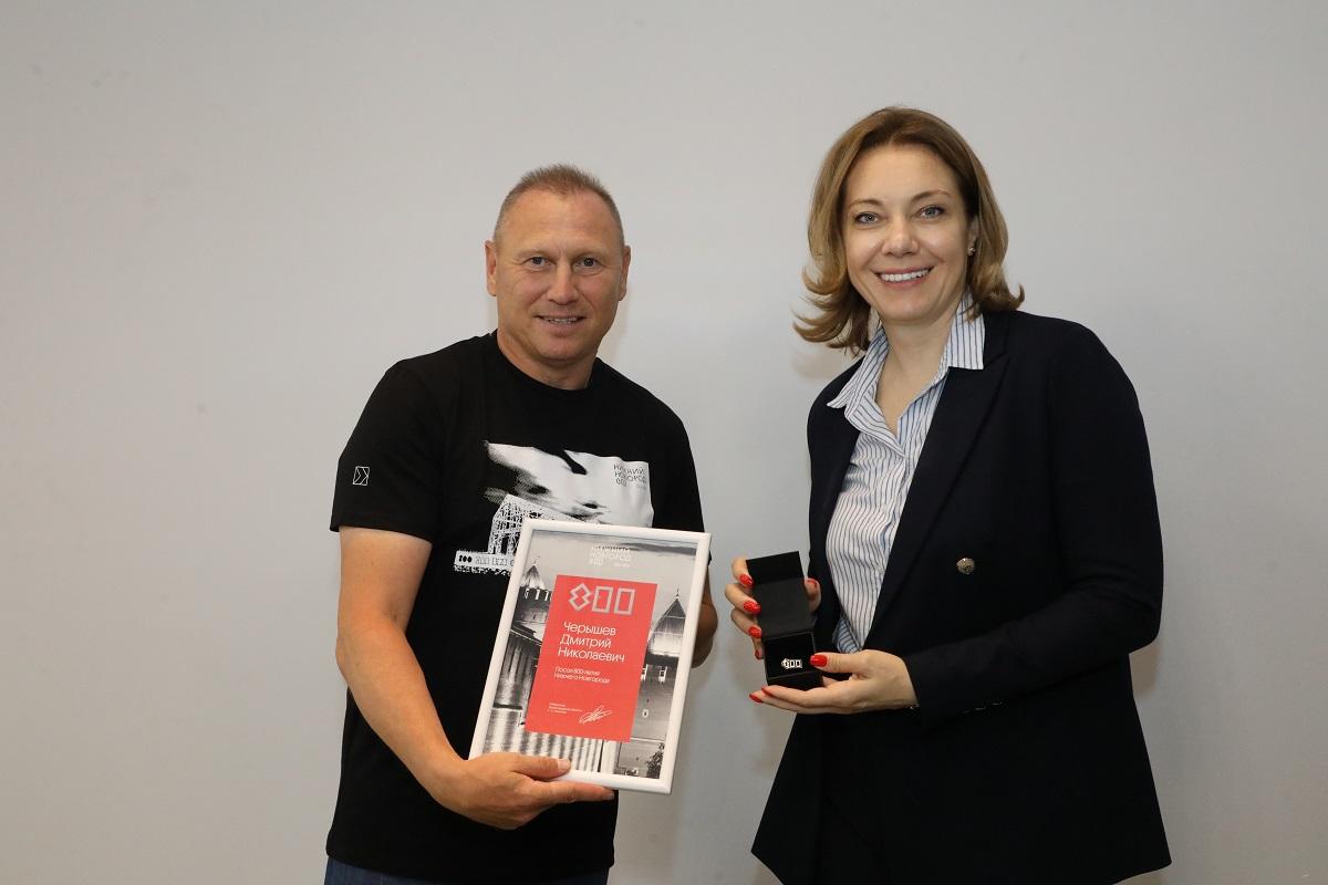 Бывший тренер футбольного клуба «Нижний Новгород» Дмитрий Черышев стал послом 800-летия города