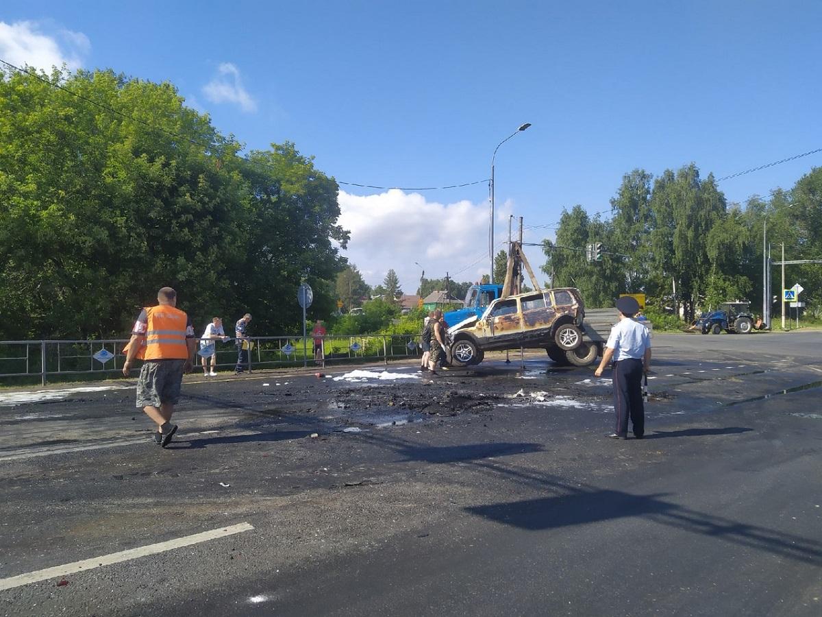 Три человека погибли в массовом ДТП в Лыскове