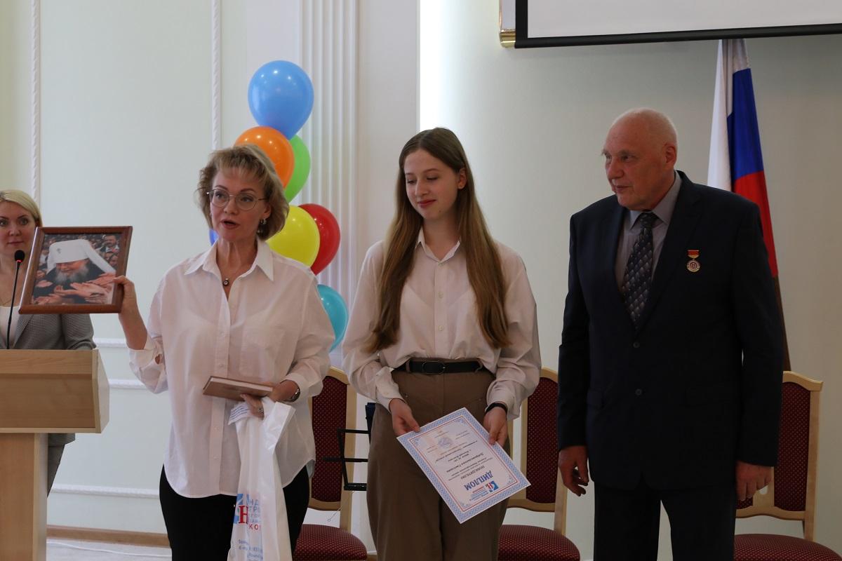 В городской Думе наградили победителей конкурса детского творчества «Святая Нижегородская земля»