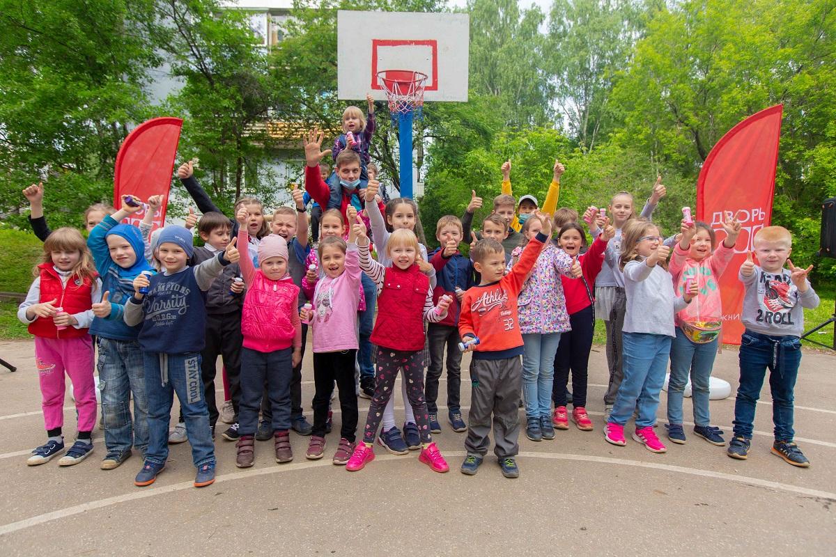 Внижегородских «Дворах 800» прошли развлекательные мероприятия для детей ивзрослых