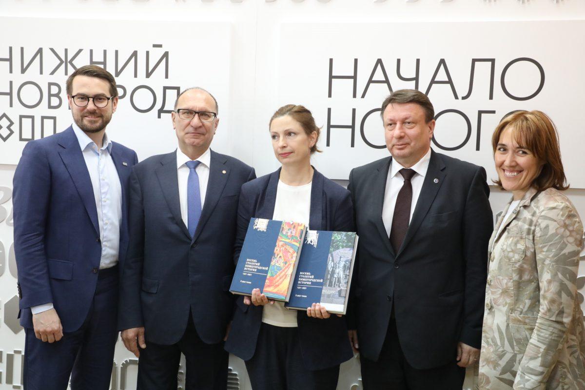 К 800-летию Нижнего Новгорода выпущен двухтомник по истории региона