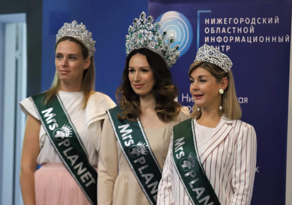 Нижегородки стали лучшими на конкурсе «Миссис планета 2021»