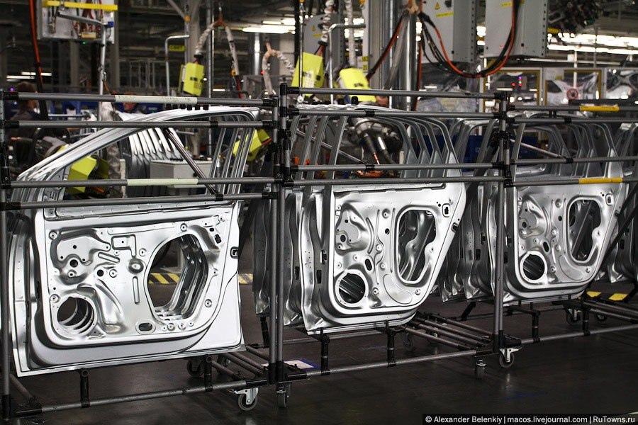 Завод Volkswagen остановил сборку в Нижнем Новгороде на 4 дня