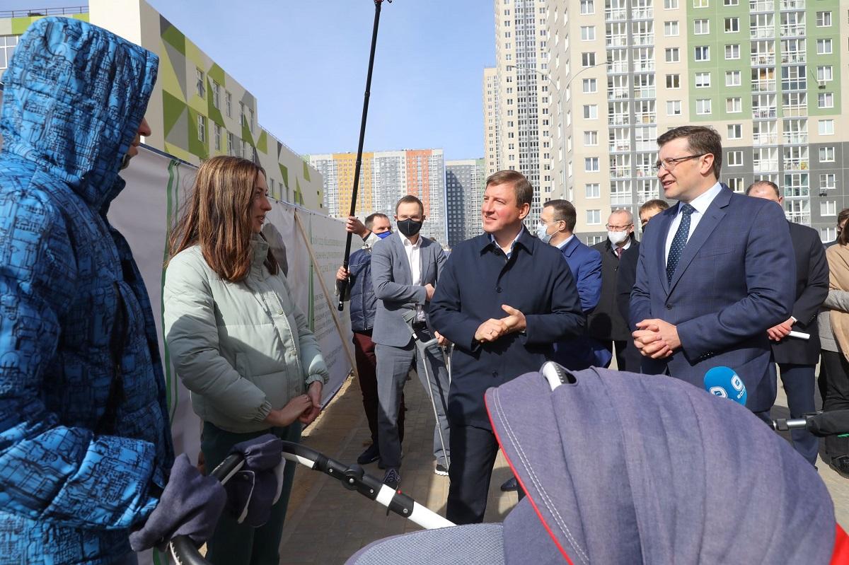 Борьба с коронавирусом, инфраструктурные кредиты, жилье: Глеб Никитин рассказал, что изменилось в регионе за прошедший год
