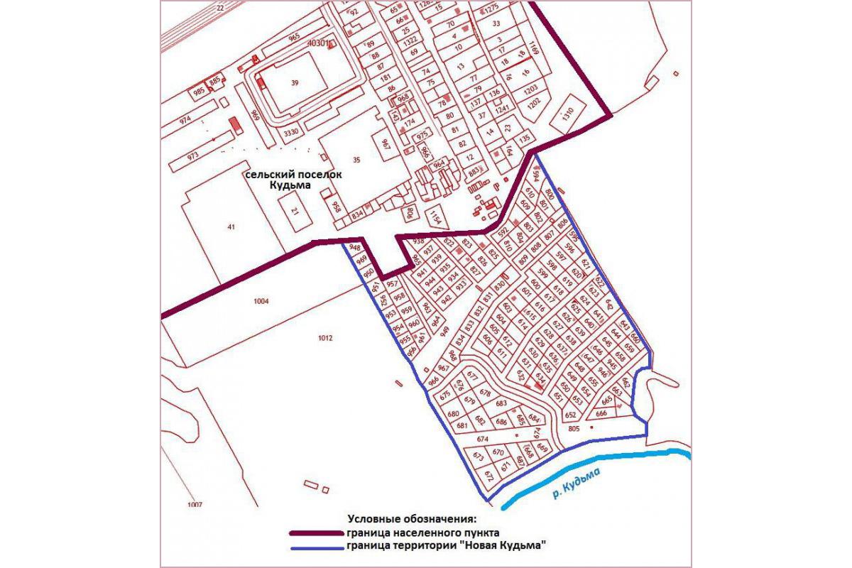 Территория Новая Кудьма появится на карте Нижнего Новгорода