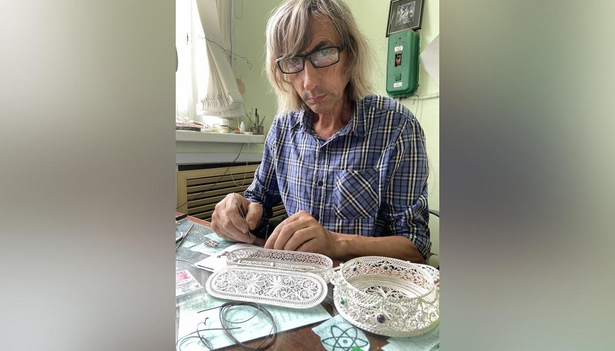 Филигранная работа: мастер из Вачи создаёт уникальные вещи из металлических нитей