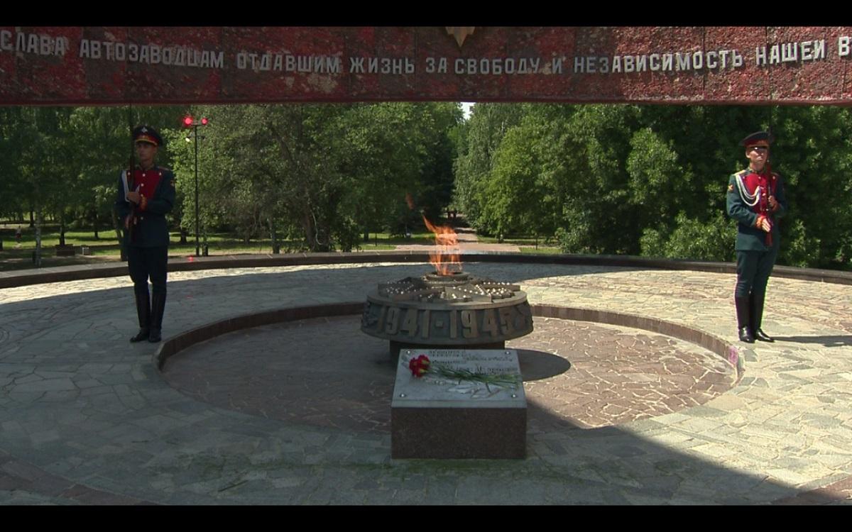 ВНижнем Новгороде состоялось памятное мероприятие, посвященное 80-летию начала Великой Отечественной войны