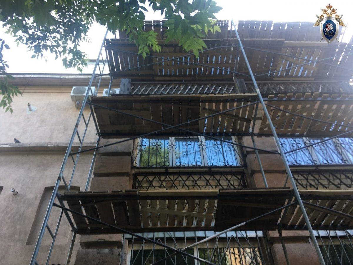 Строитель упал с высоты 3-го этажа в Нижнем Новгороде