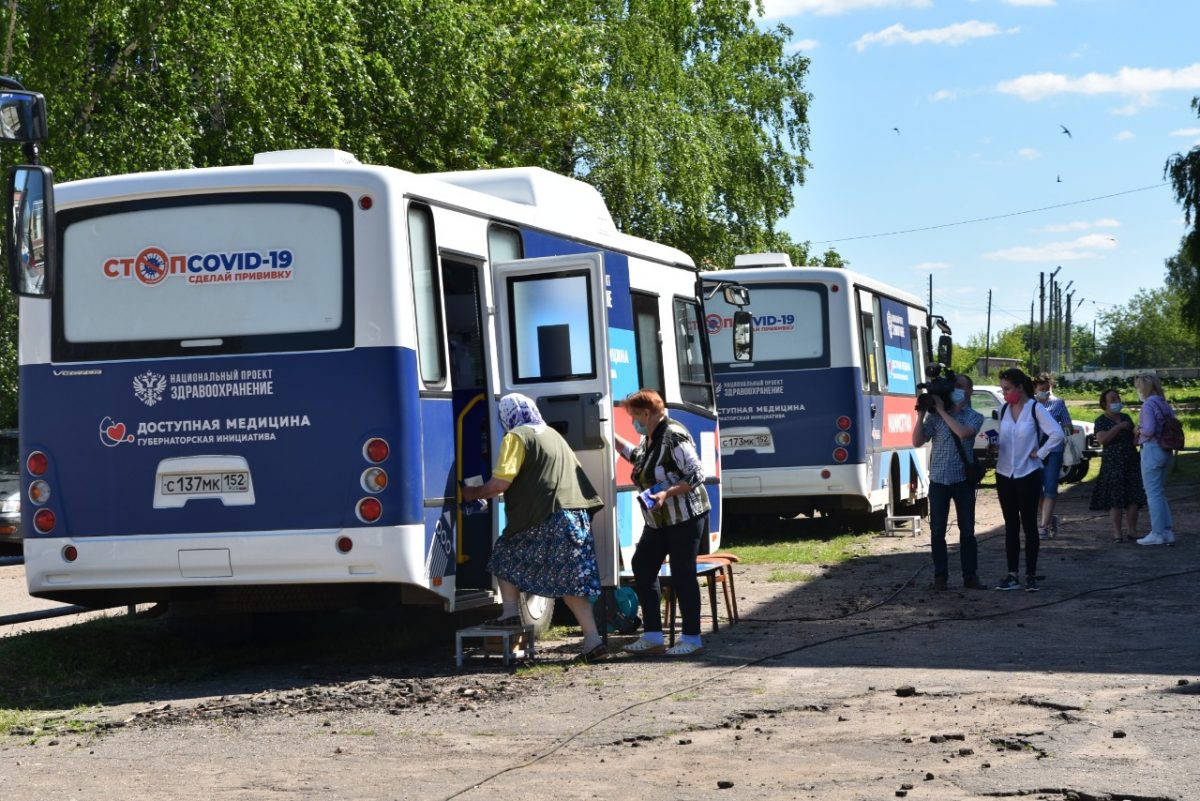 «Поезда здоровья» побывали в181 населенном пункте Нижегородской области