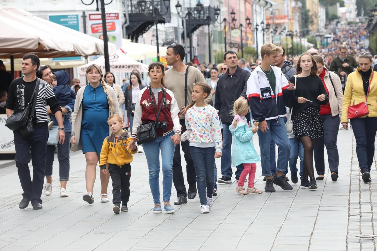 792 миллиона рублей пособий выплатили сначала года многодетным семьям в Нижегородской области