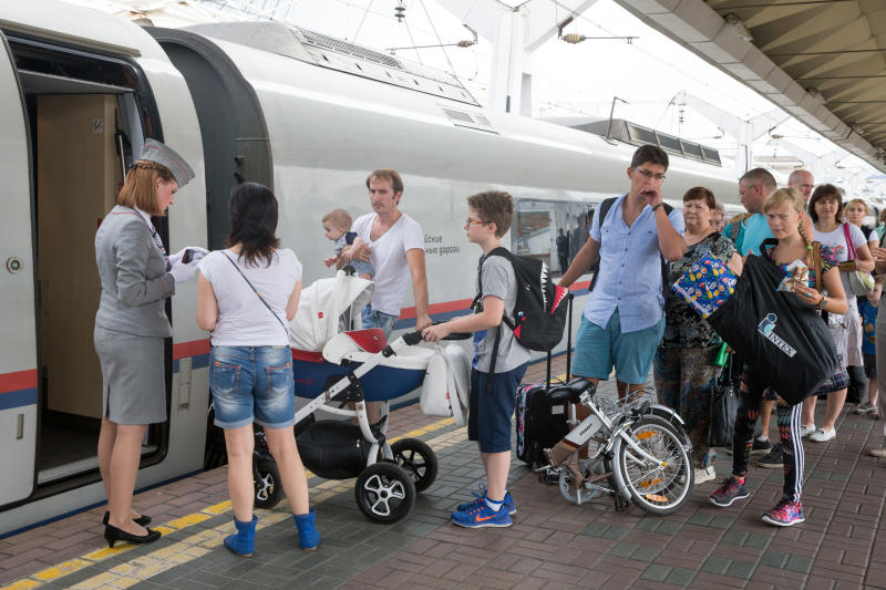 Пассажирские перевозки на Горьковской магистрали выросли на 13% в январе-сентябре