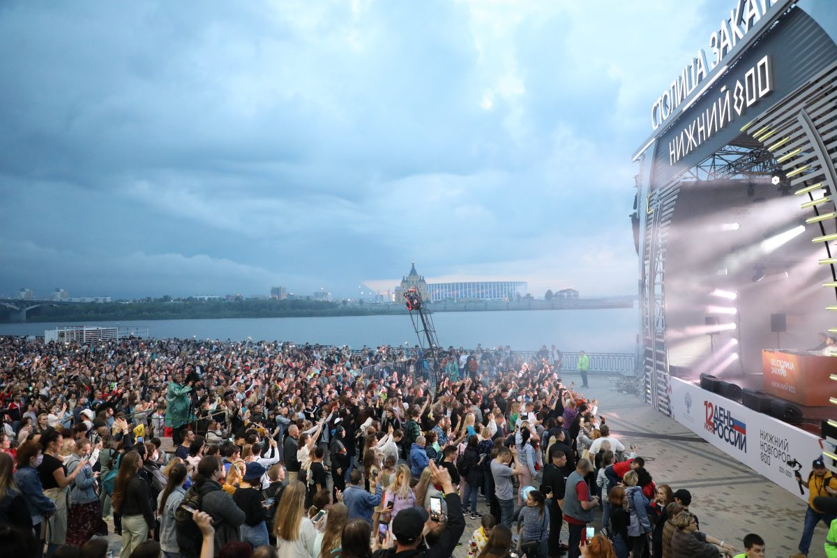 Опубликована программа второго фестиваля «Столица закатов» 19 июня в Нижнем Новгороде