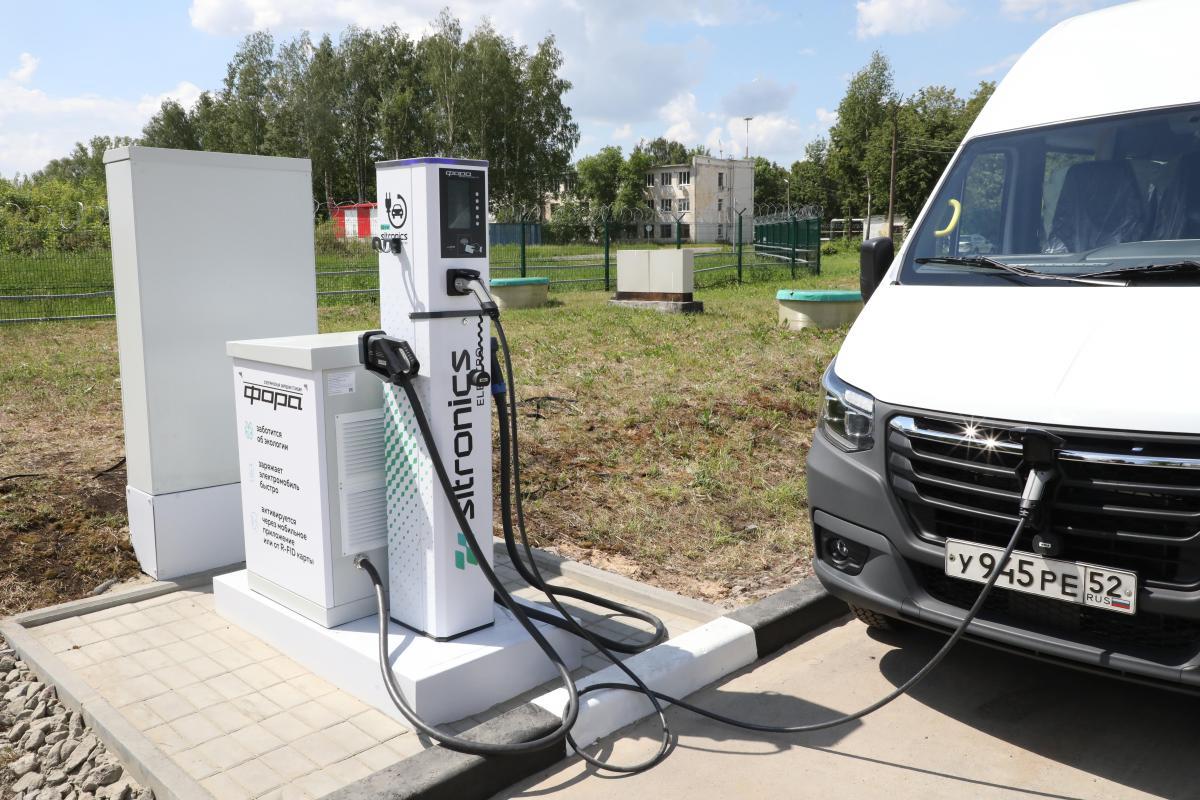 В аэропорту Стригино начала работать электрозарядная станция