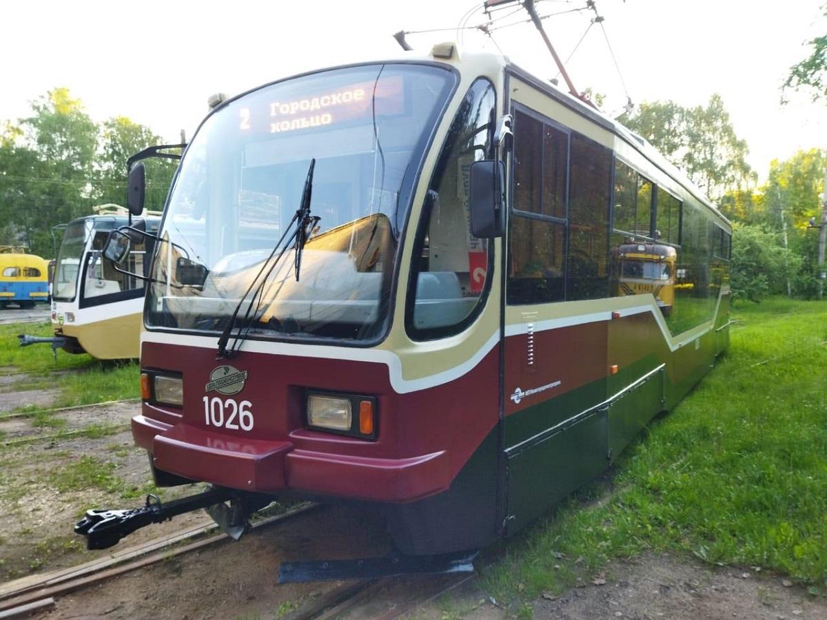 На маршрут городского кольца в Нижнем Новгороде выйдут трамваи в ретро-стиле