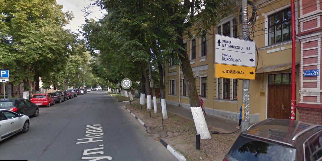 Улицу Новую в Нижнем Новгороде частично перекроют