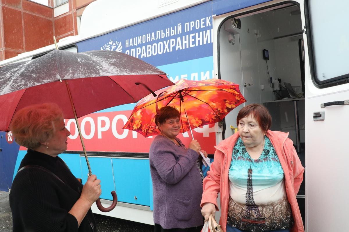 «Поезда здоровья» побывали в126 населенных пунктах Нижегородской области
