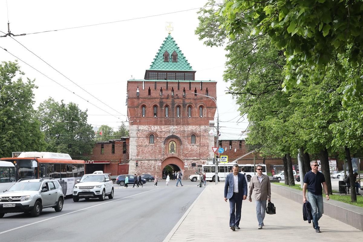 В Нижегородском кремле установят новые контрольно-пропускные пункты за 6,7 миллионов рублей