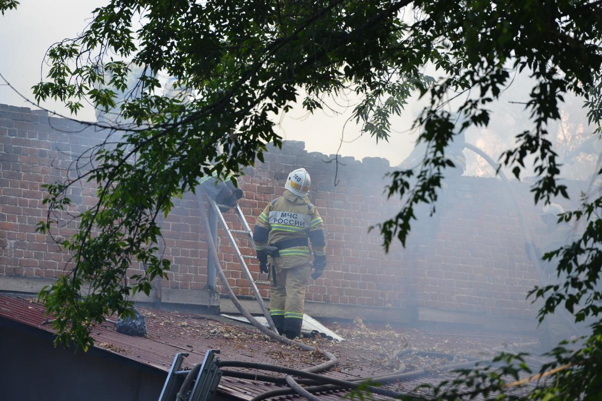 Пожилая женщина погибла при пожаре в Нижнем Новгороде