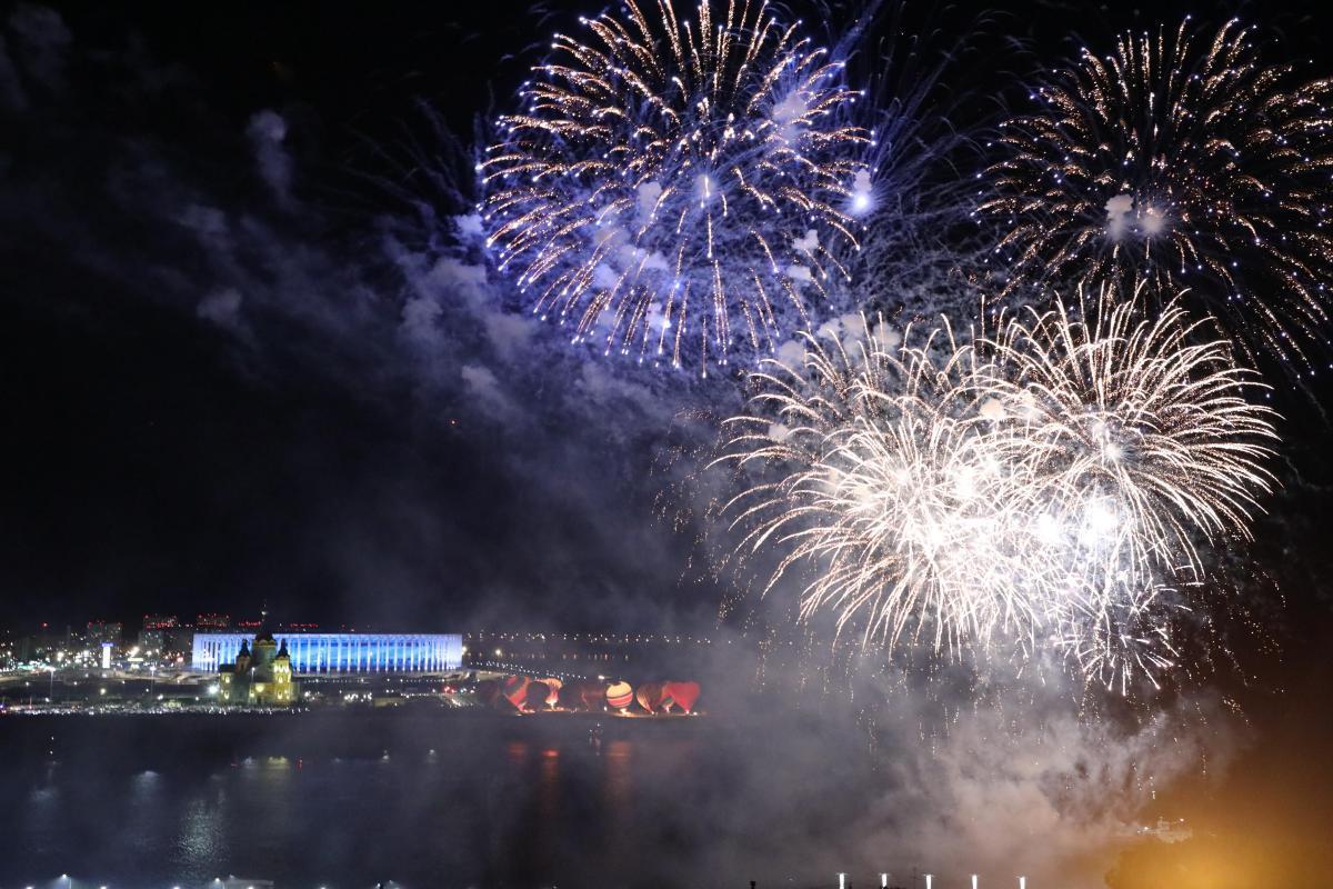 Салют станет кульминацией празднования Дня России в Нижнем Новгороде: подсказываем, где занять лучшее место