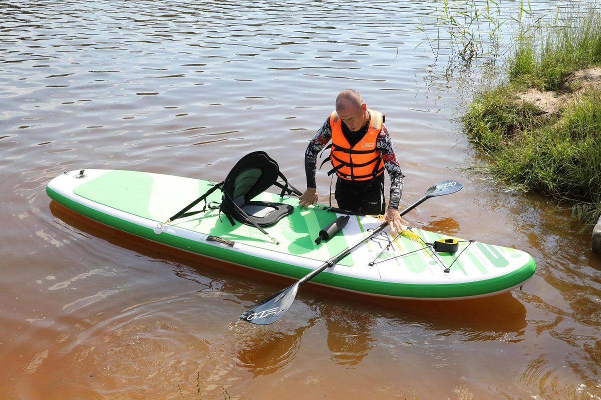 инвалиды сапсерфинг сормовское озеро