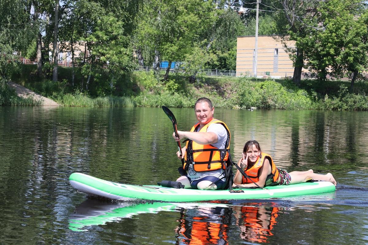 сапсерфы, инвалиды сормовское озеро