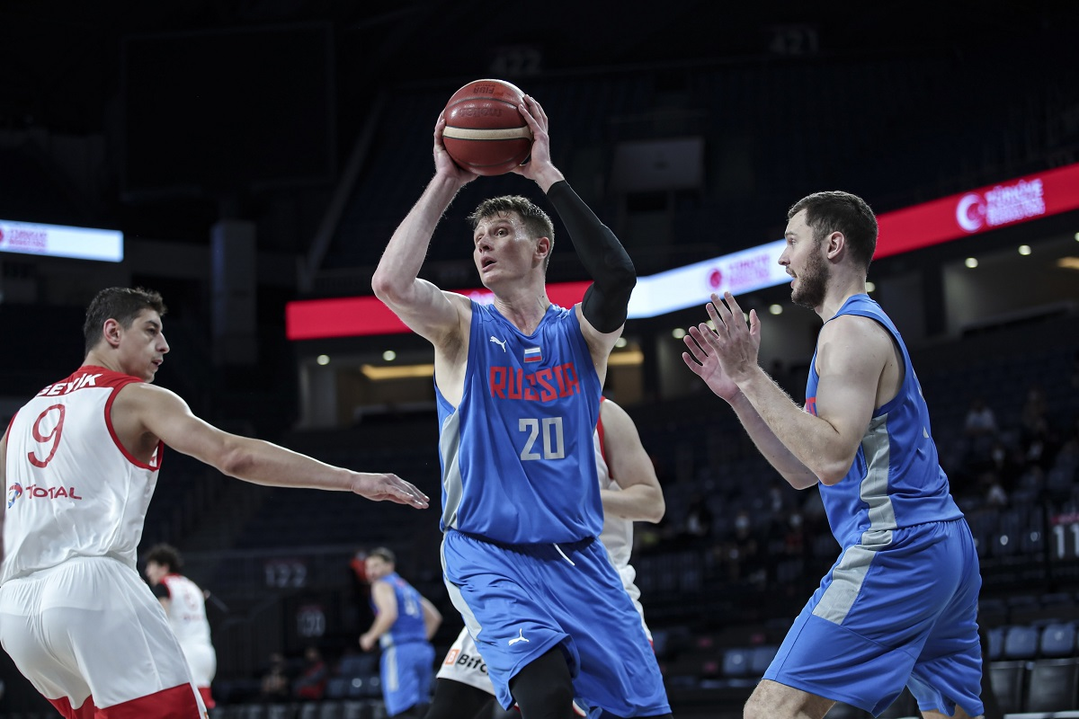 Баскетболисты «Нижнего Новгорода» готовятся к олимпийской квалификации