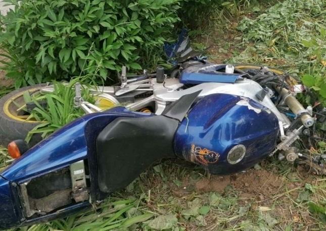 Молодая пара разбилась на мотоцикле в Богородске