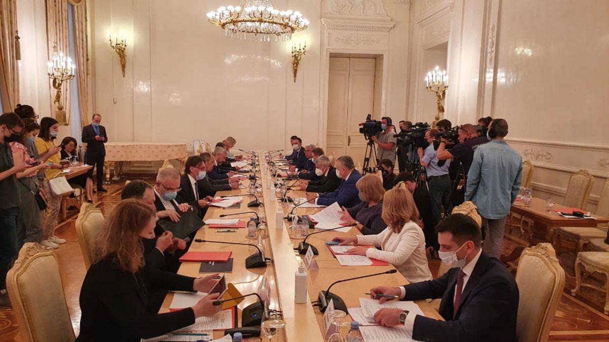 Представители правительства Нижегородской области приняли участие вXXXVI заседании совета глав субъектов при МИД России