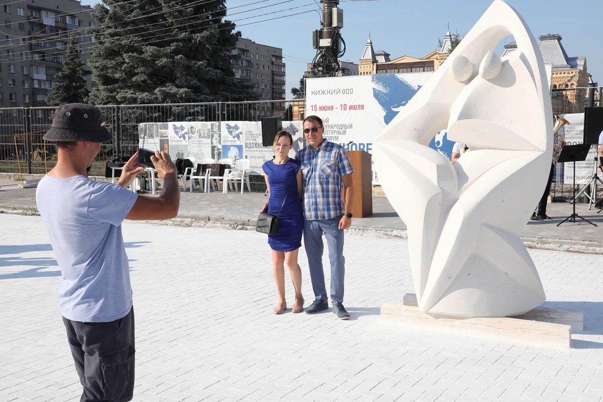 ВНижнем Новгороде завершился Первый международный скульптурный симпозиум «Вдохновение»