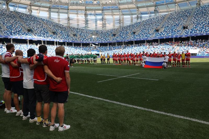 Сборная России по регби проиграла соперникам из Португалии на нижегородском стадионе