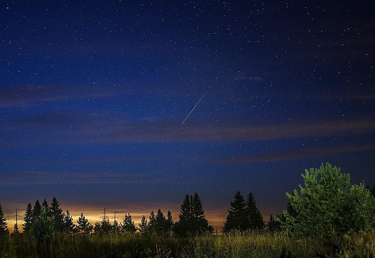 В нижегородском небе начался самый зрелищный звездопад — поток Персеиды