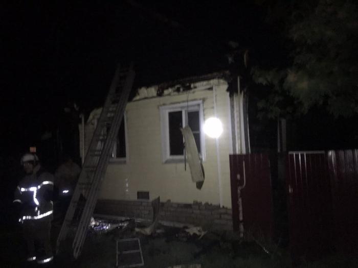 На пожаре в Арзамасе погибли два человека