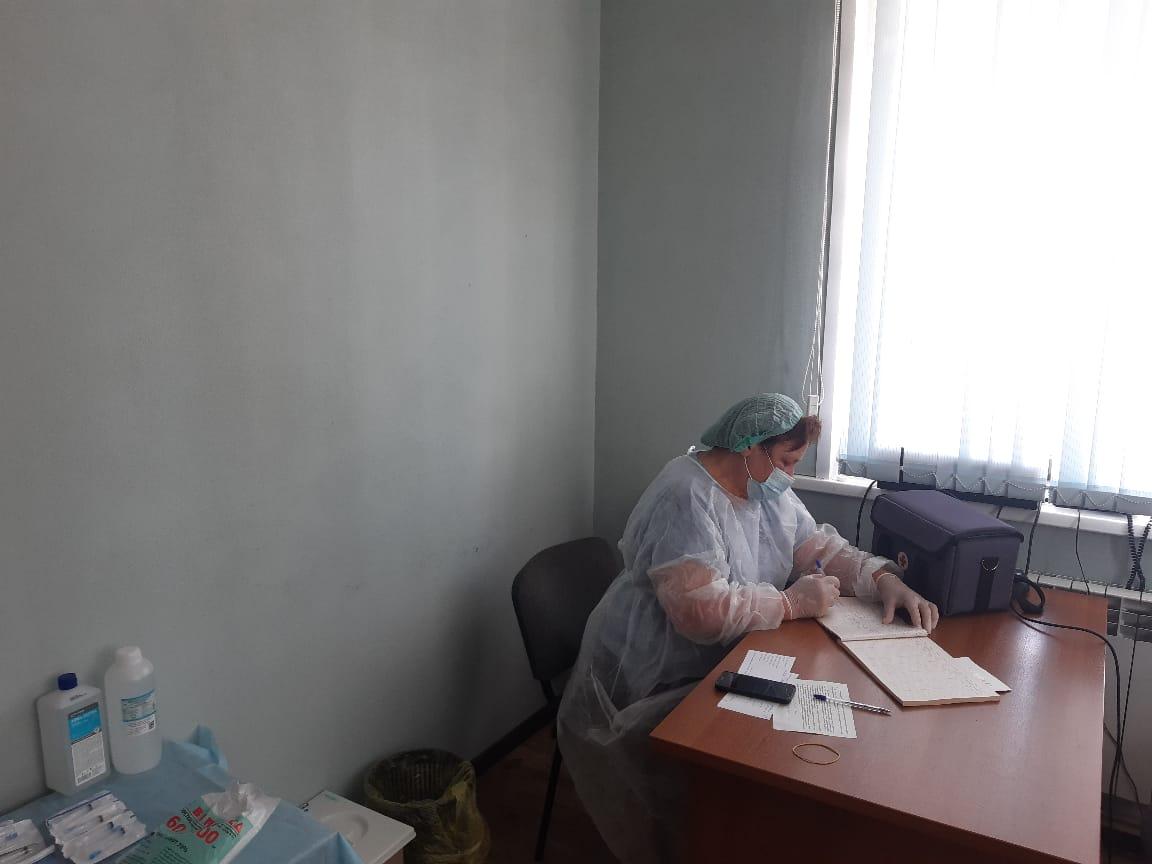 В Сеченове открыли новый пункт вакцинации от коронавируса на поселковом рынке