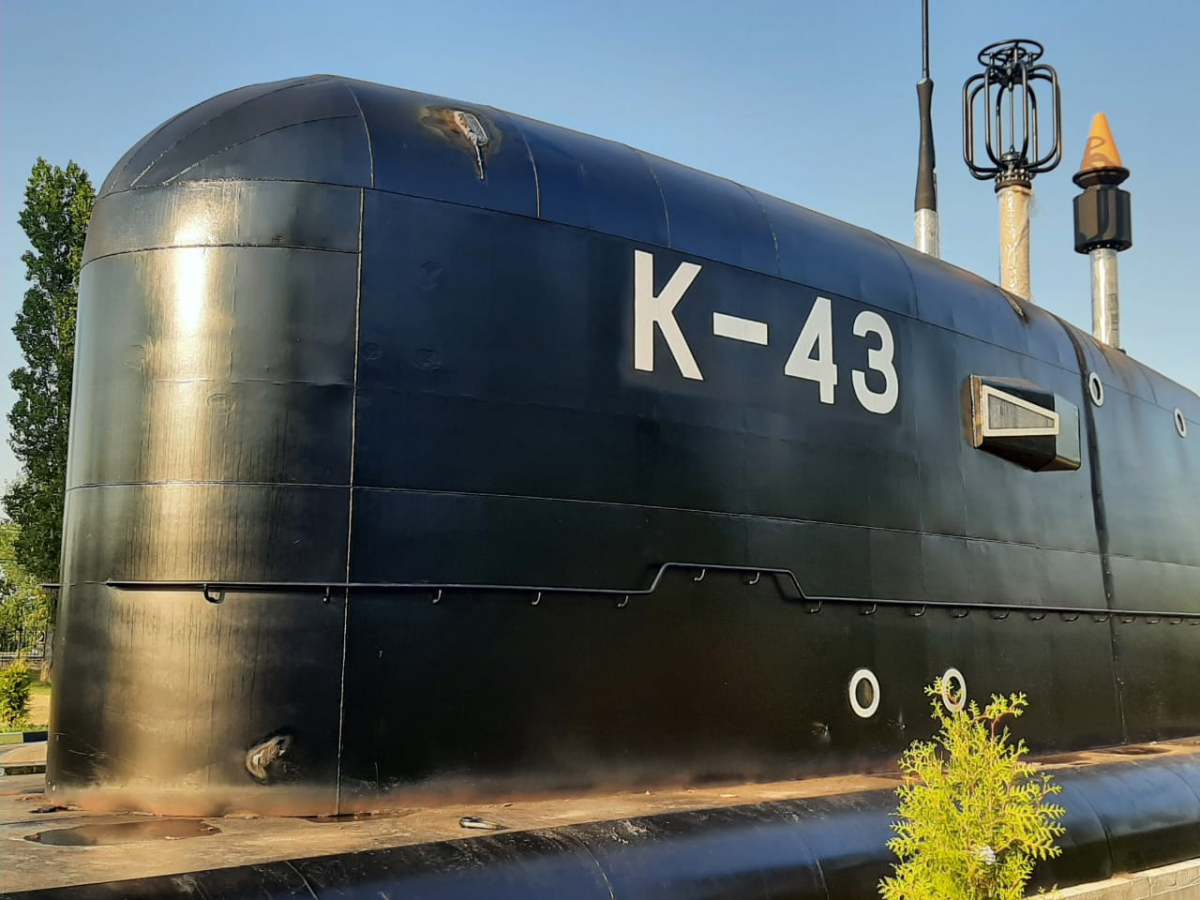 Рубка подводной лодки «Скат» установлена в нижегородском парке Победы