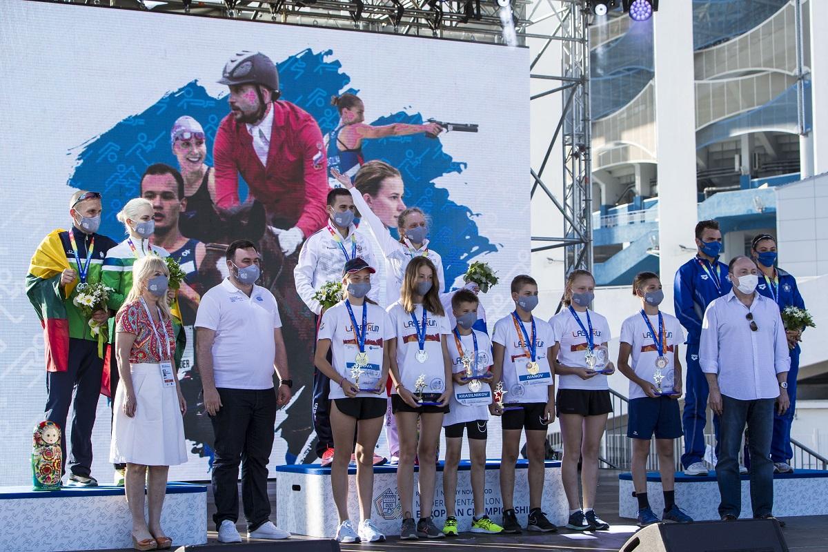 ВНижнем Новгороде завершился чемпионат Европы посовременному пятиборью