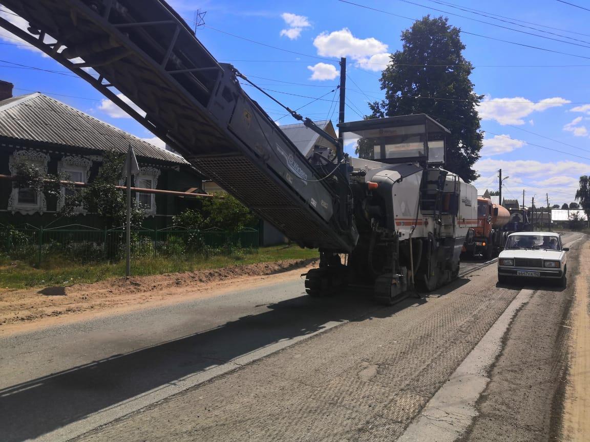 Дорогу Выкса— Досчатое отремонтируют вНижегородской области понацпроекту «Безопасные качественные дороги»