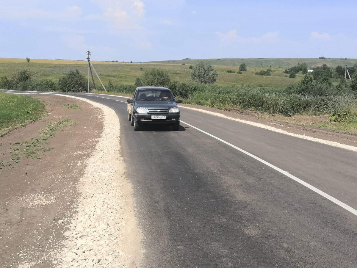 Подъезд кселу Малое Мурашкино вНижегородской области отремонтировали понацпроекту «Безопасные качественные дороги»