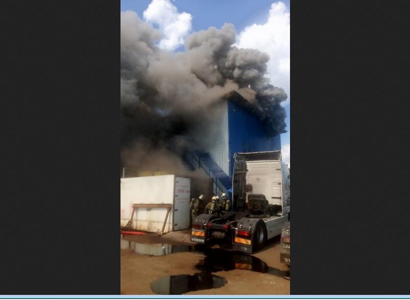 Пожар произошёл в Ленинском районе Нижнего Новгорода
