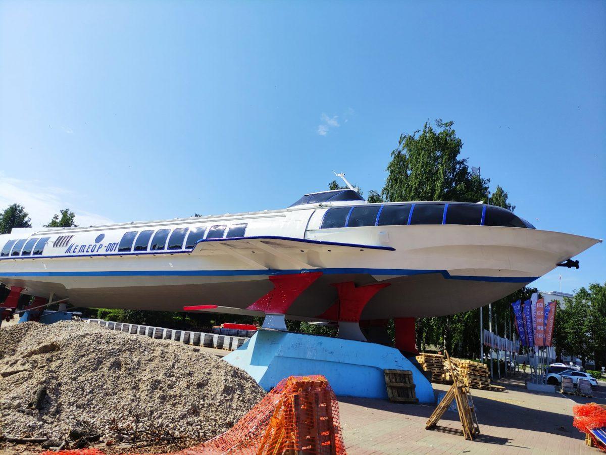 «Метеор» на площади Буревестника отремонтируют и покрасят в Нижнем Новгороде