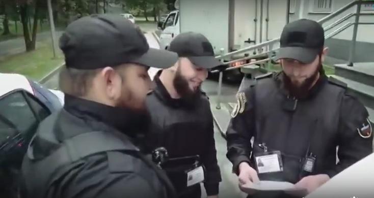 На улицах Москвы появился кавказский патруль
