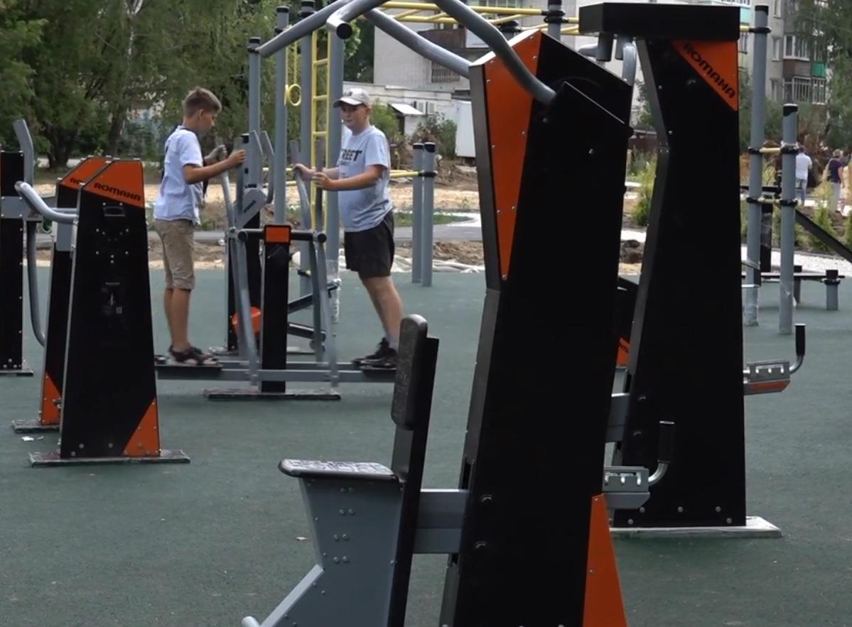 В одном из скверовЗаволжья появятся новая детская площадка иуличные тренажеры
