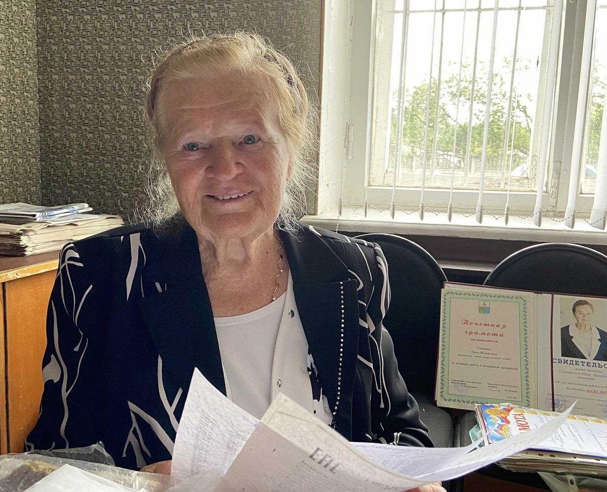 Самая быстрая бабушка района: в 83 года пенсионерка из Вачи ещё даст фору молодым