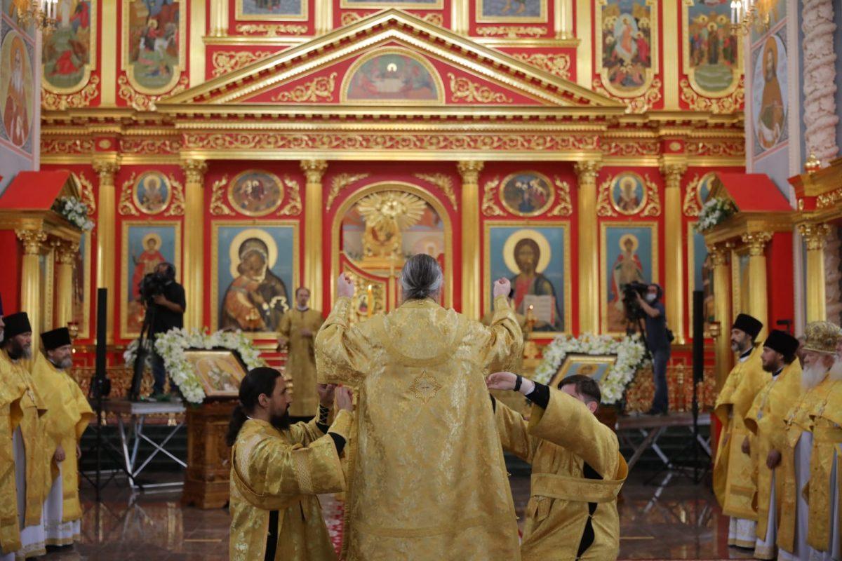 Храм вчесть Святого Благоверного князя Георгия Всеволодовича исвятителя Симона освятили вНижнем Новгороде