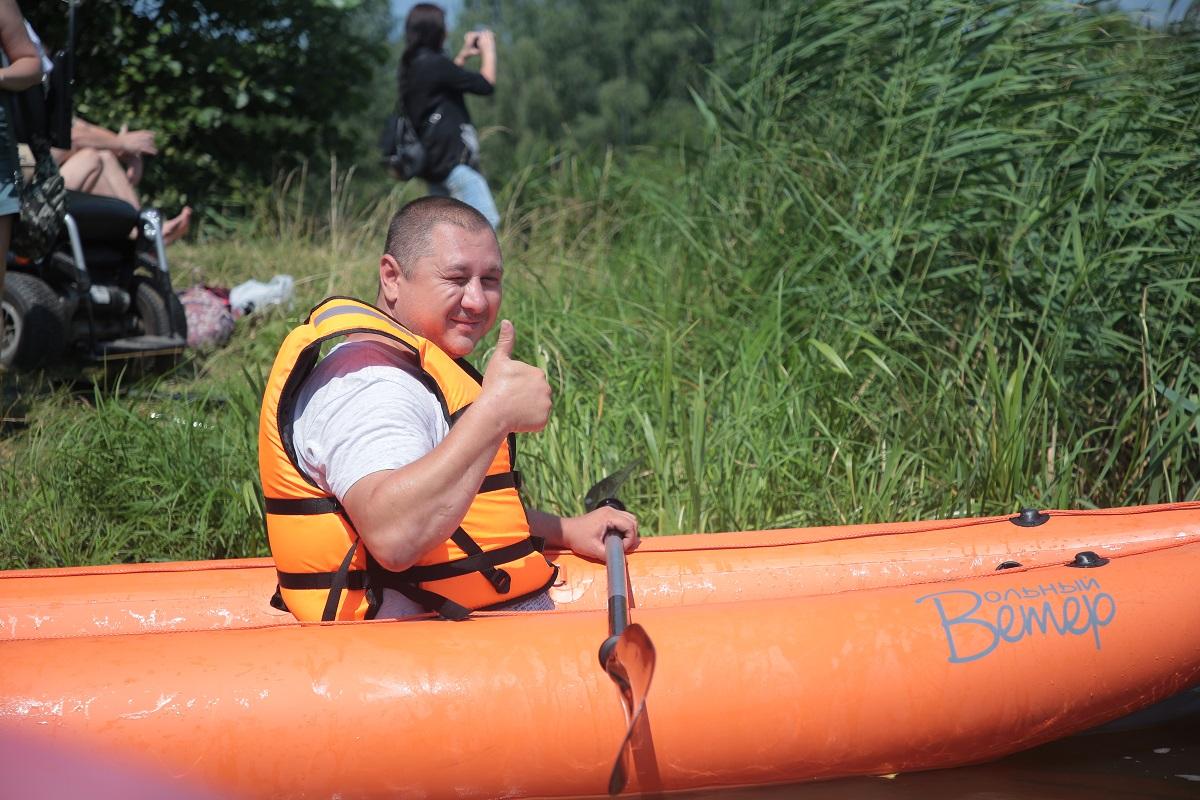 байдарка байдарки фестиваль сормовское озеро