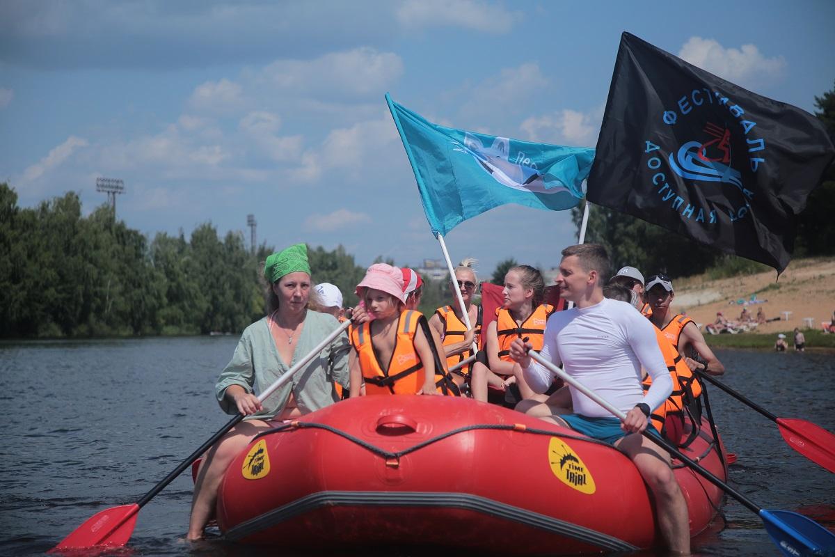 рафт заплыв сормовское озеро