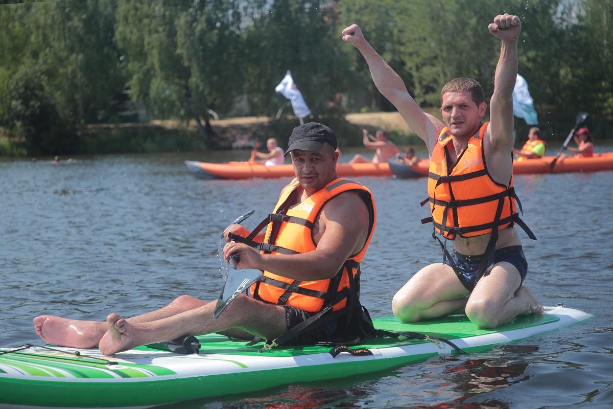 сапсерф сормовское озеро заплыв фестиваль инвалиды