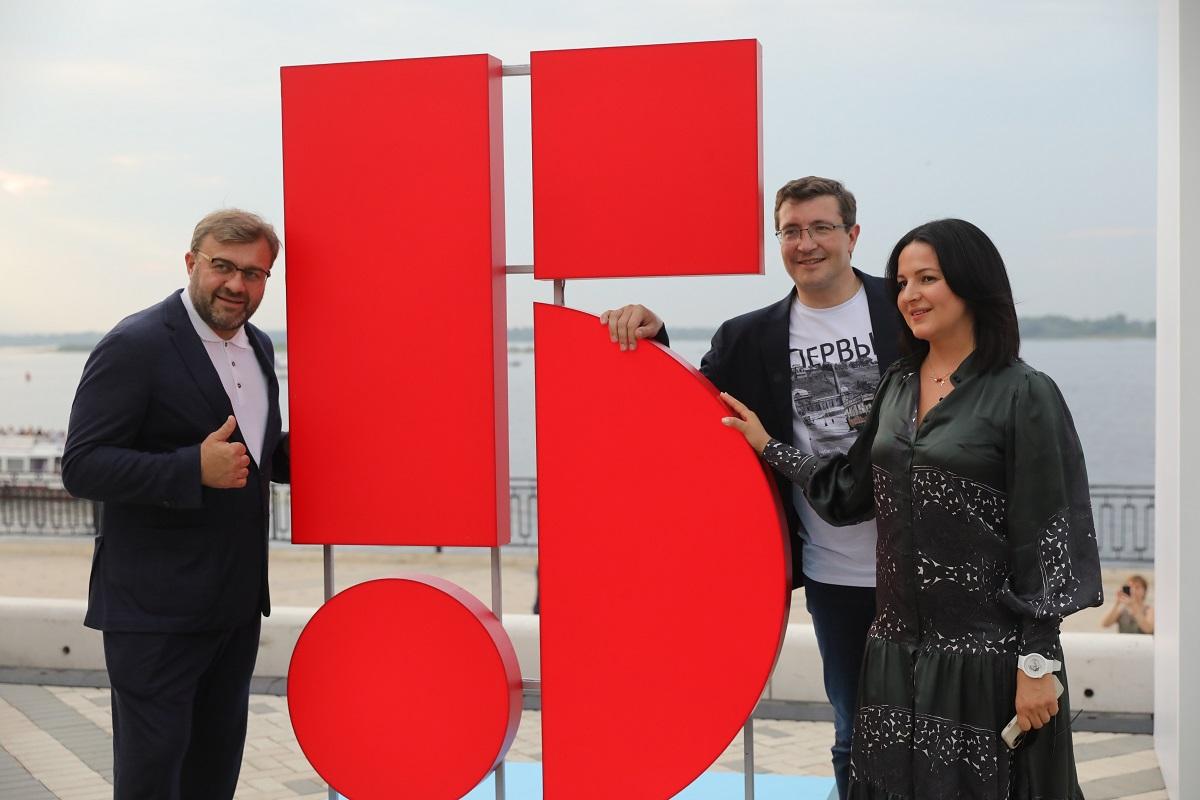Глеб Никитин принял участие воткрытии летнего кинотеатра наНижневолжской набережной